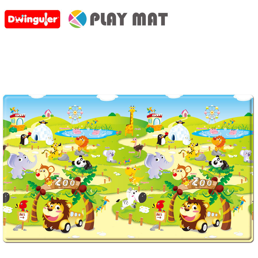Dwinguler Playmat - Zoo - Large