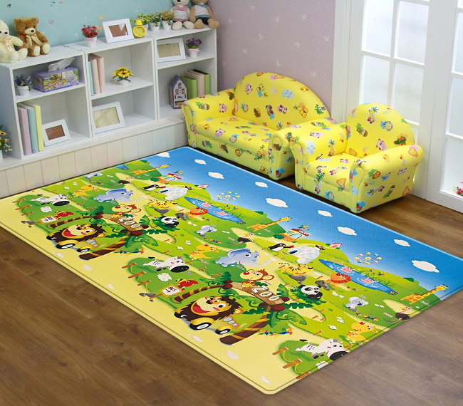 Dwinguler Playmat - Zoo - Large Action Shot