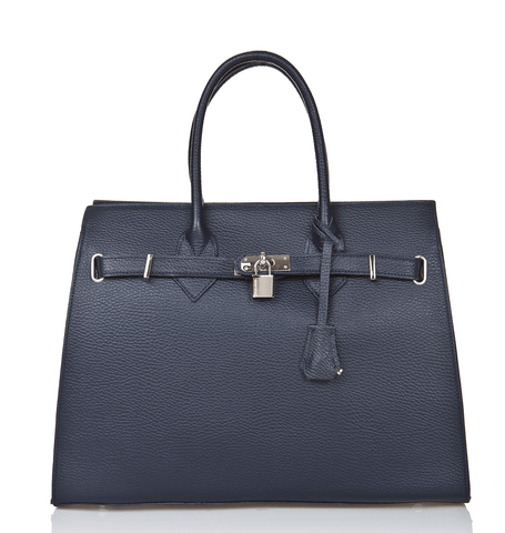 Bridgewater Satchel - Royal Blue - GRACEBURY