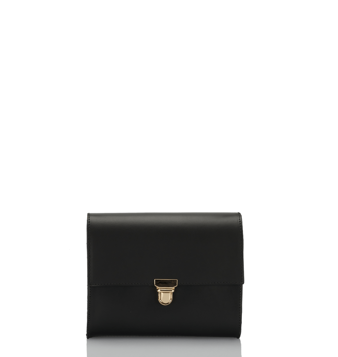 The Classic Clutch - Onyx Black - GRACEBURY
