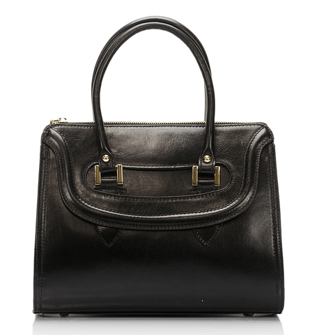 Sherman Satchel - Black - GRACEBURY