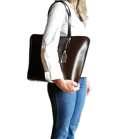 Market Tote - Dark Brown Espresso - GRACEBURY