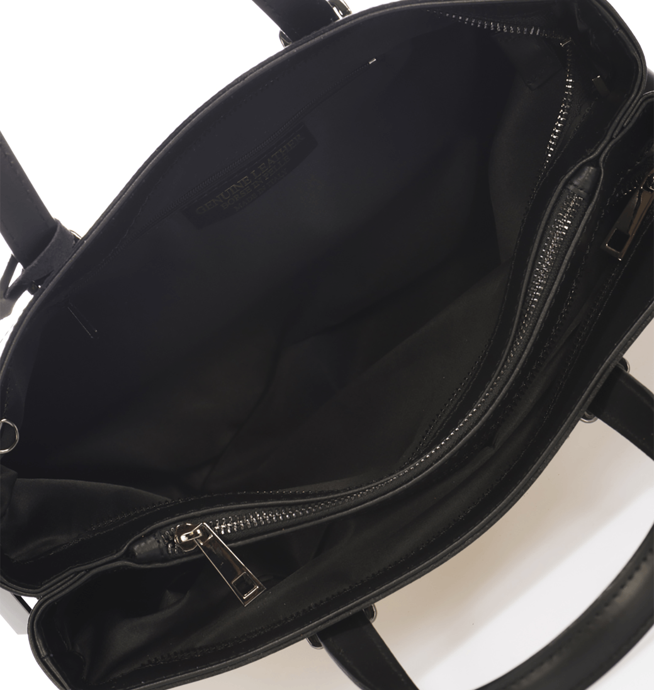 West Street Satchel - Midnight Black