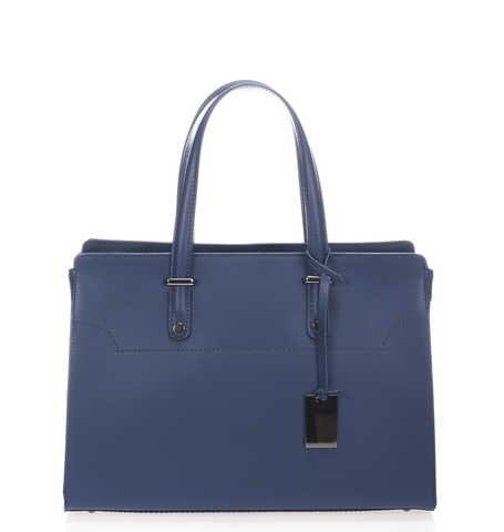 West Street Satchel - Oxford Blue - GRACEBURY