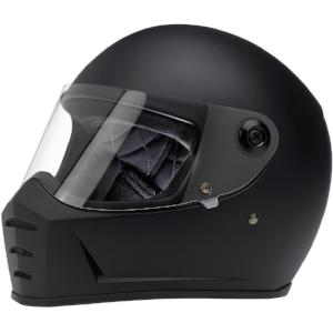 Biltwell Lane Splitter Full Face Helmet - Flat Black