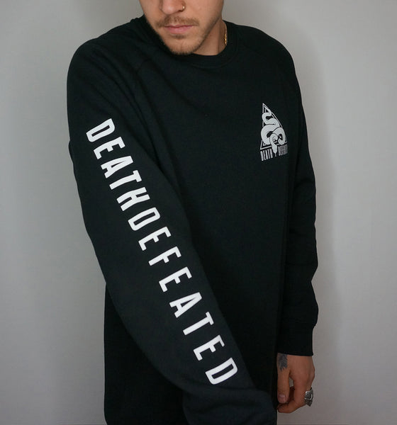 Death Defeated Severed Snake Crewneck