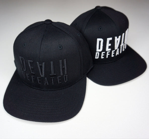 Death Defeated Stacked Hat