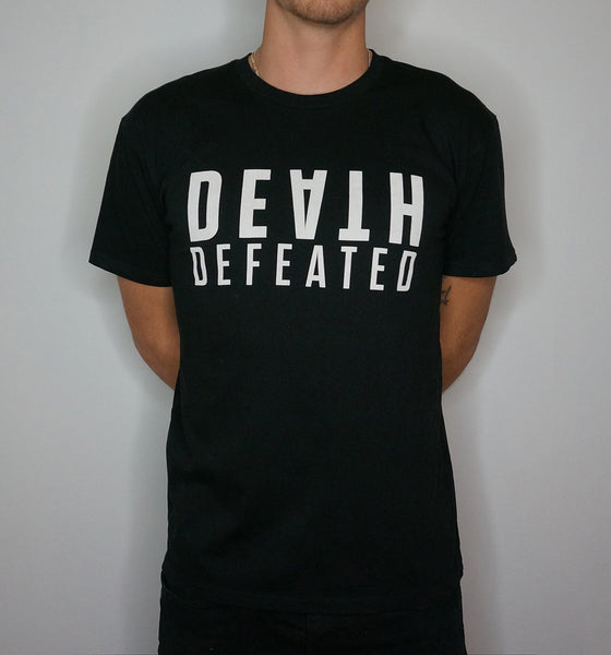 Death Defeated Stacked T-Shirt
