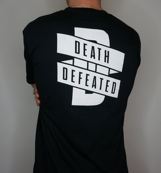 Death Defeated Wrapped T-Shirt
