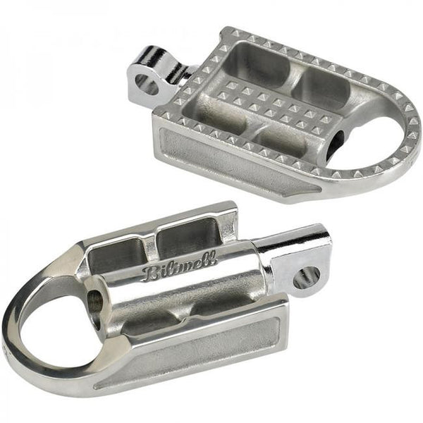 Biltwell Foot Pegs - Mushman Black or Polished HD