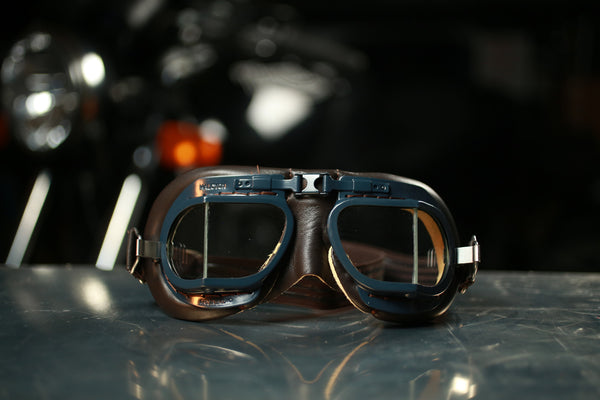 Halcyon Goggles - Mark 8 RAF Battle of Britain Brown