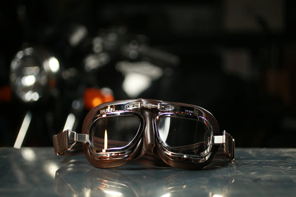 Halcyon Goggles - Mark 410 Brown