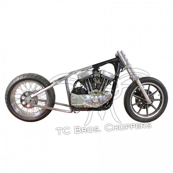 TC Bros Hardtail Kit - Sportster 82-03 (Weld On) fits Stock 180-200 Tire
