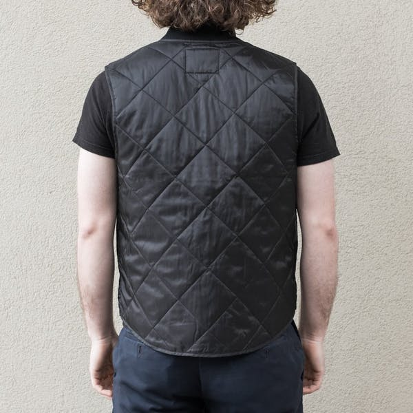 Treadwell Unisex Quilted Vest - Black