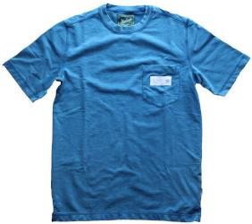 IFK Branded Crescent Woolrich T-Shirt Blue