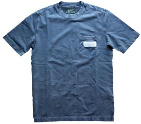 IFK Branded Crescent Woolrich T-Shirt Grey