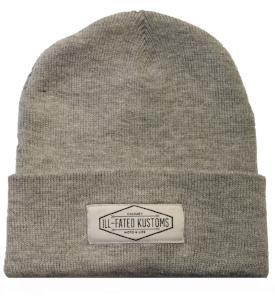 IFK Moto Life Beanie - Heather Grey