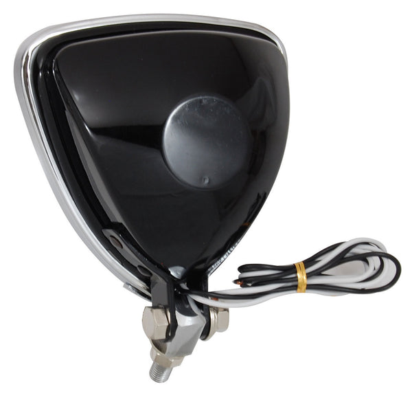 Throttle Addiction Headlight - Triangle Aris Black