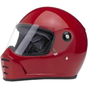 Biltwell Lane Splitter Full Face Helmet - Gloss Blood Red