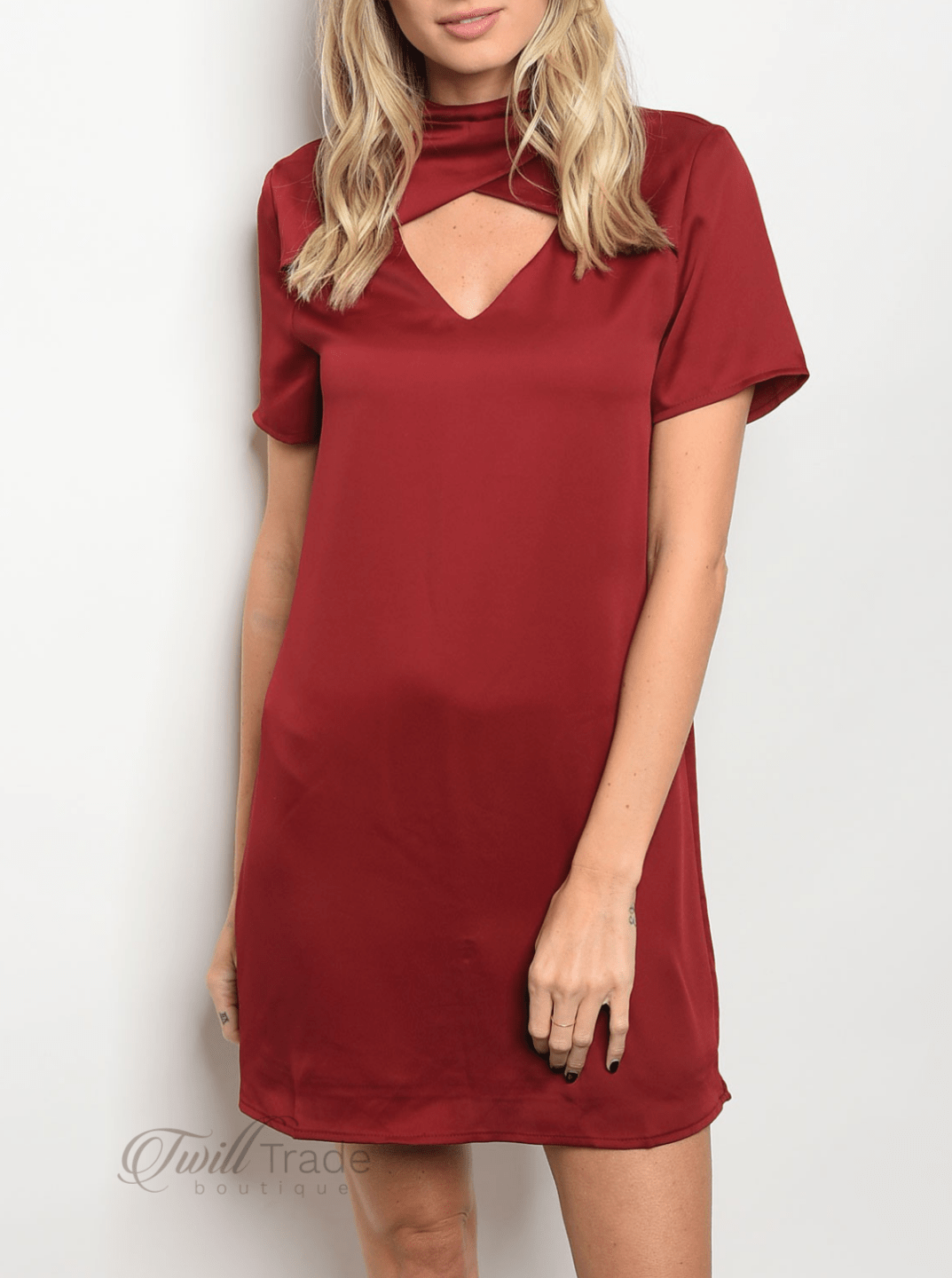 Wine Dress | LoveRiche