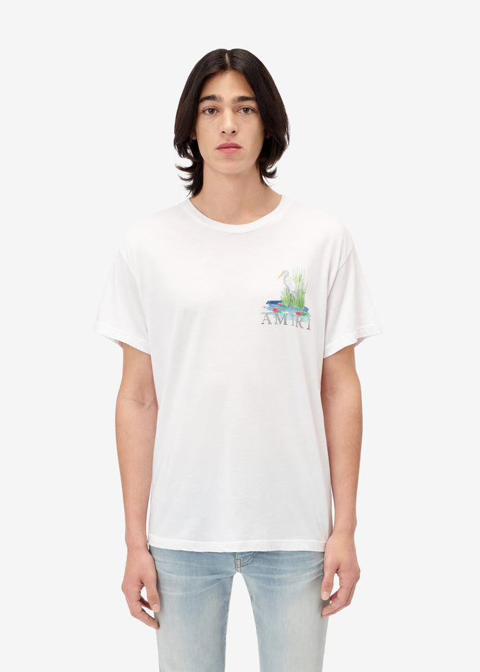 Standing Egret Tee Web Exclusive - White