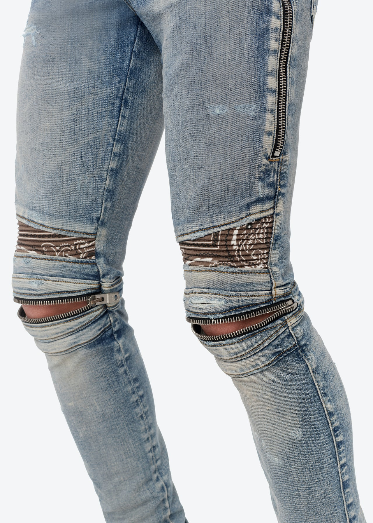 MX2 BROWN BANDANA JEAN - CLAY INDIGO