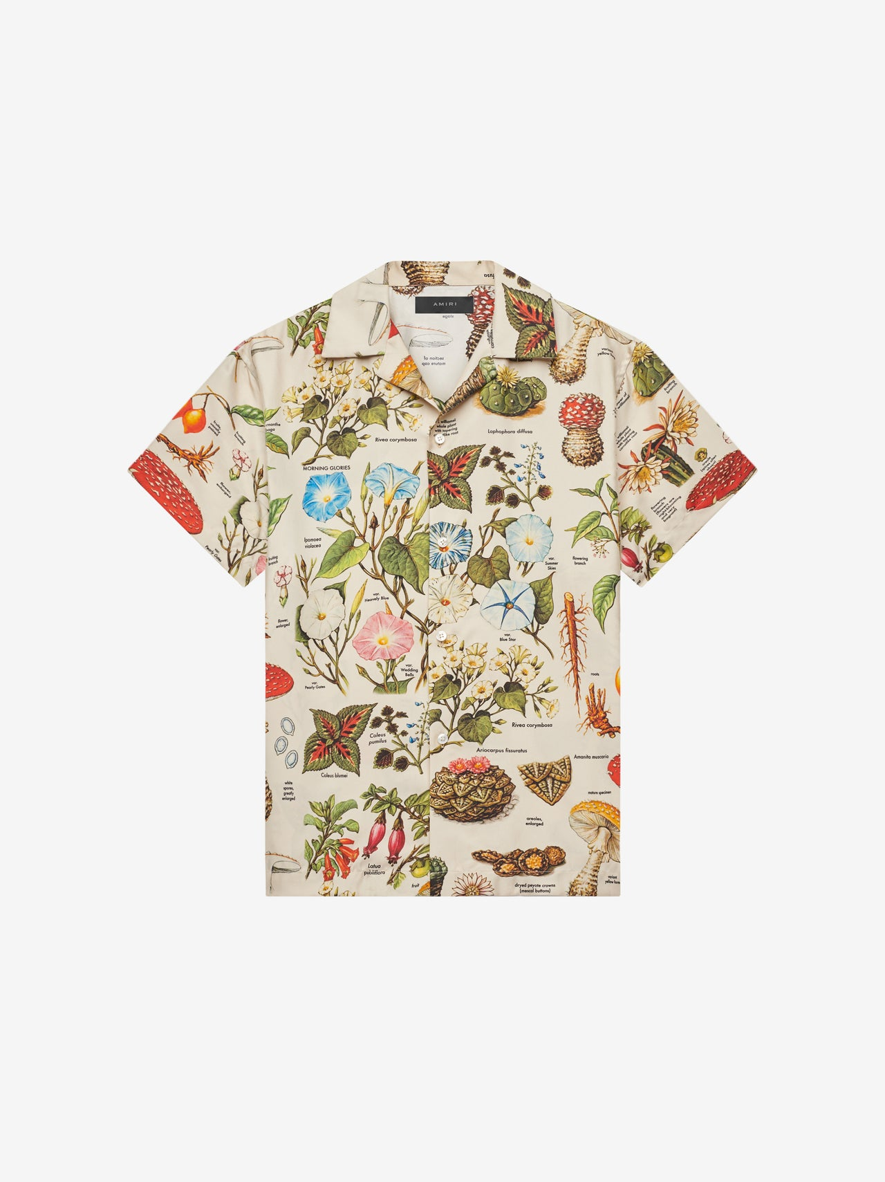 PSYCHEDELIC SHORT SLEEVE SHIRT - Natural