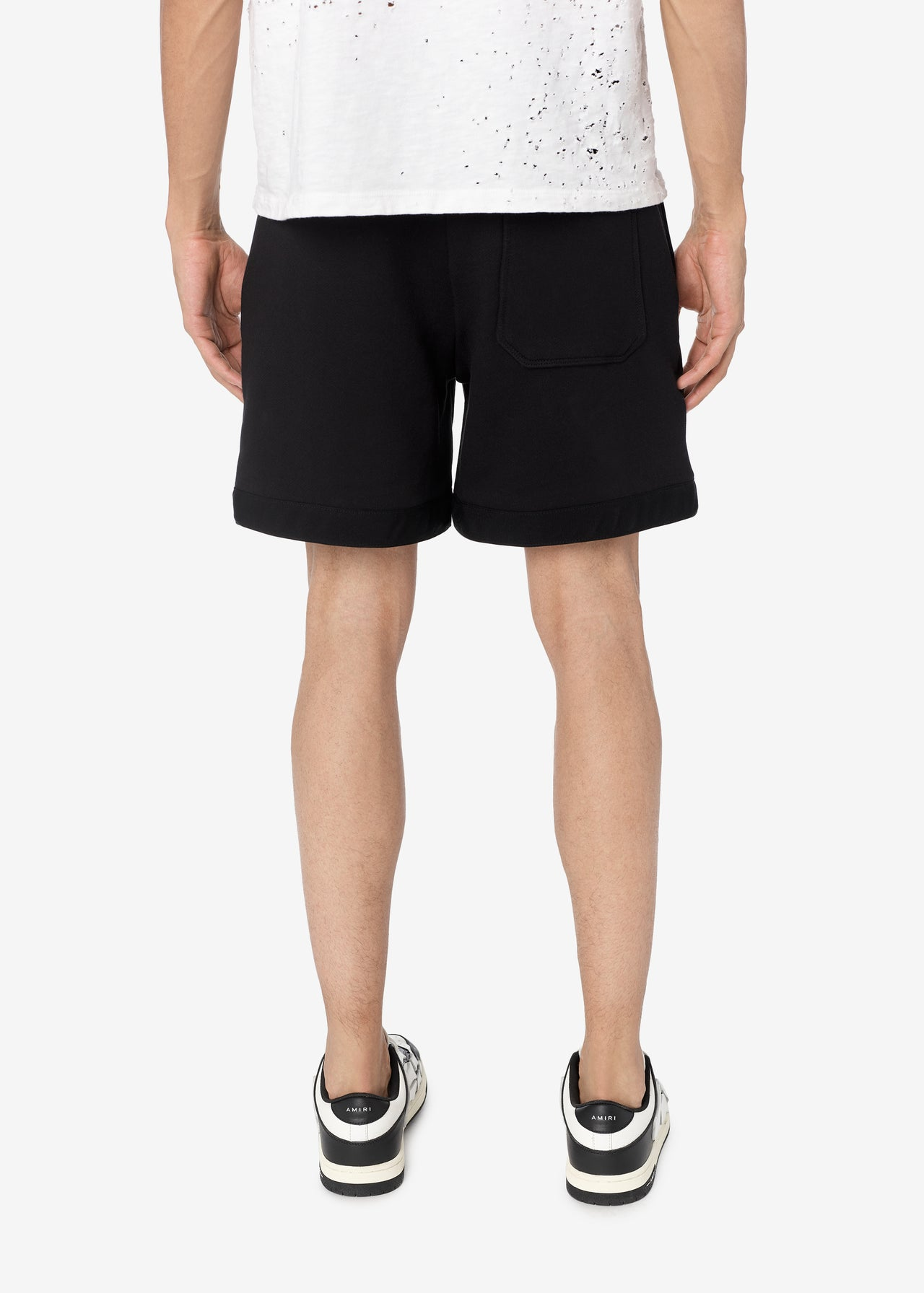 AMIRI CORE LOGO SWEATSHORTS - BLACK