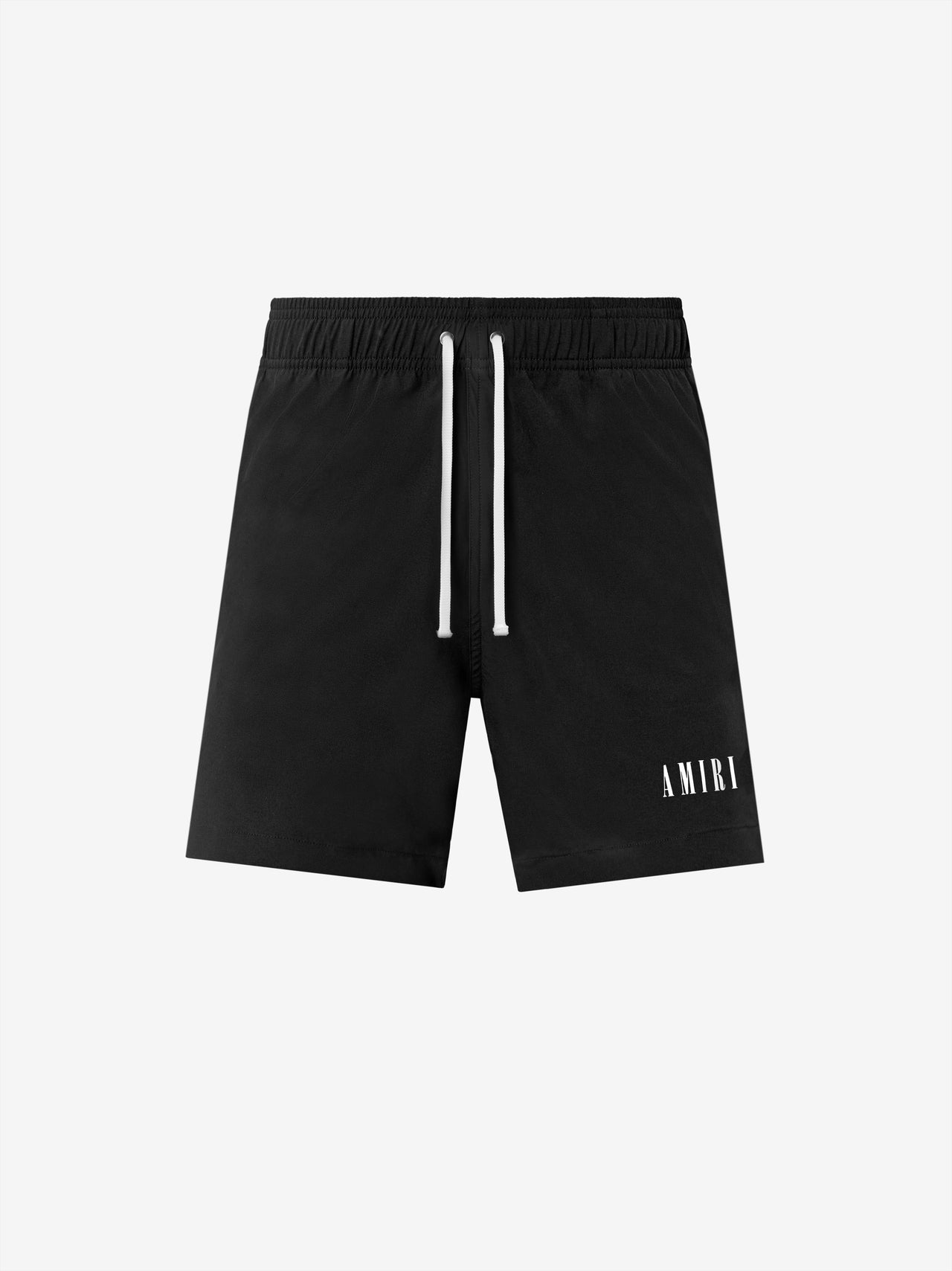 AMIRI LOGO SWIM TRUNK - BLACK