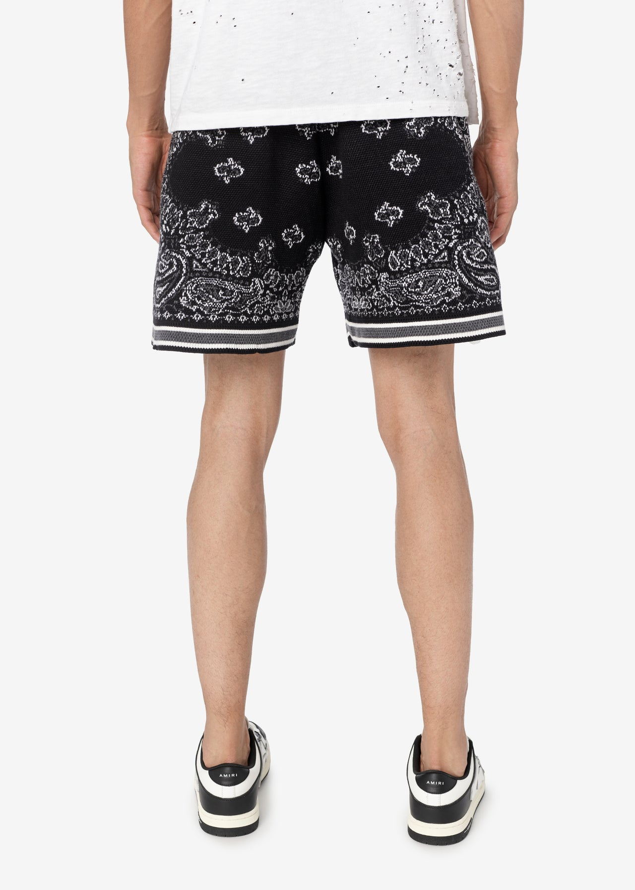 BANDANA B-BALL SHORTS - BLACK