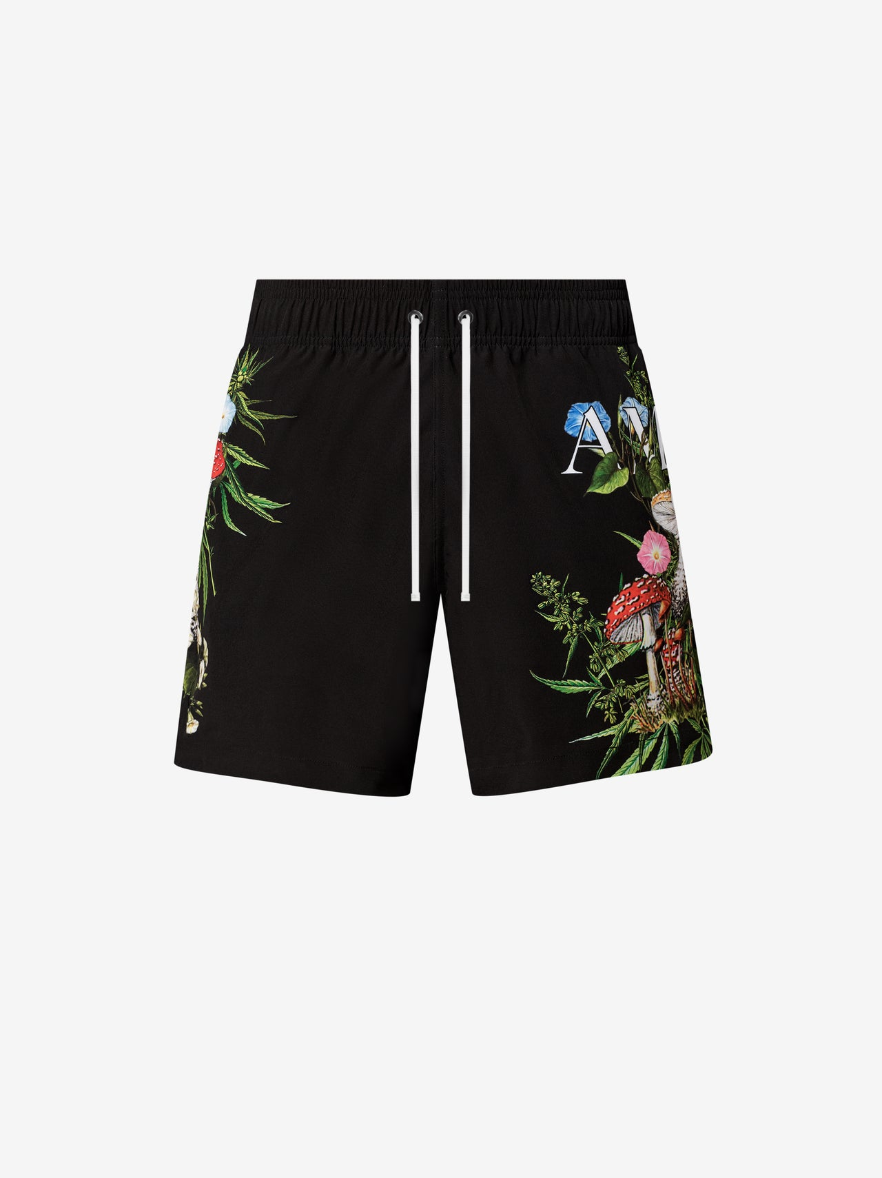 PSYCHEDELIC SWIM TRUNK - BLACK