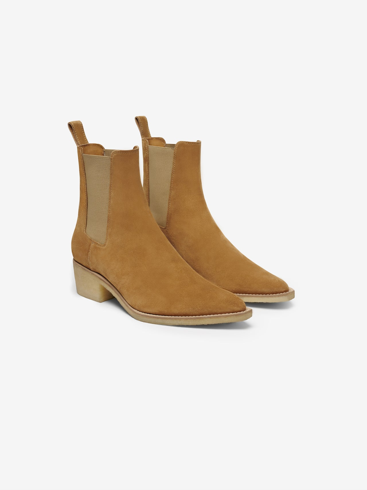 CHELSEA CREPE SOLE BOOT - BROWN / NATURAL