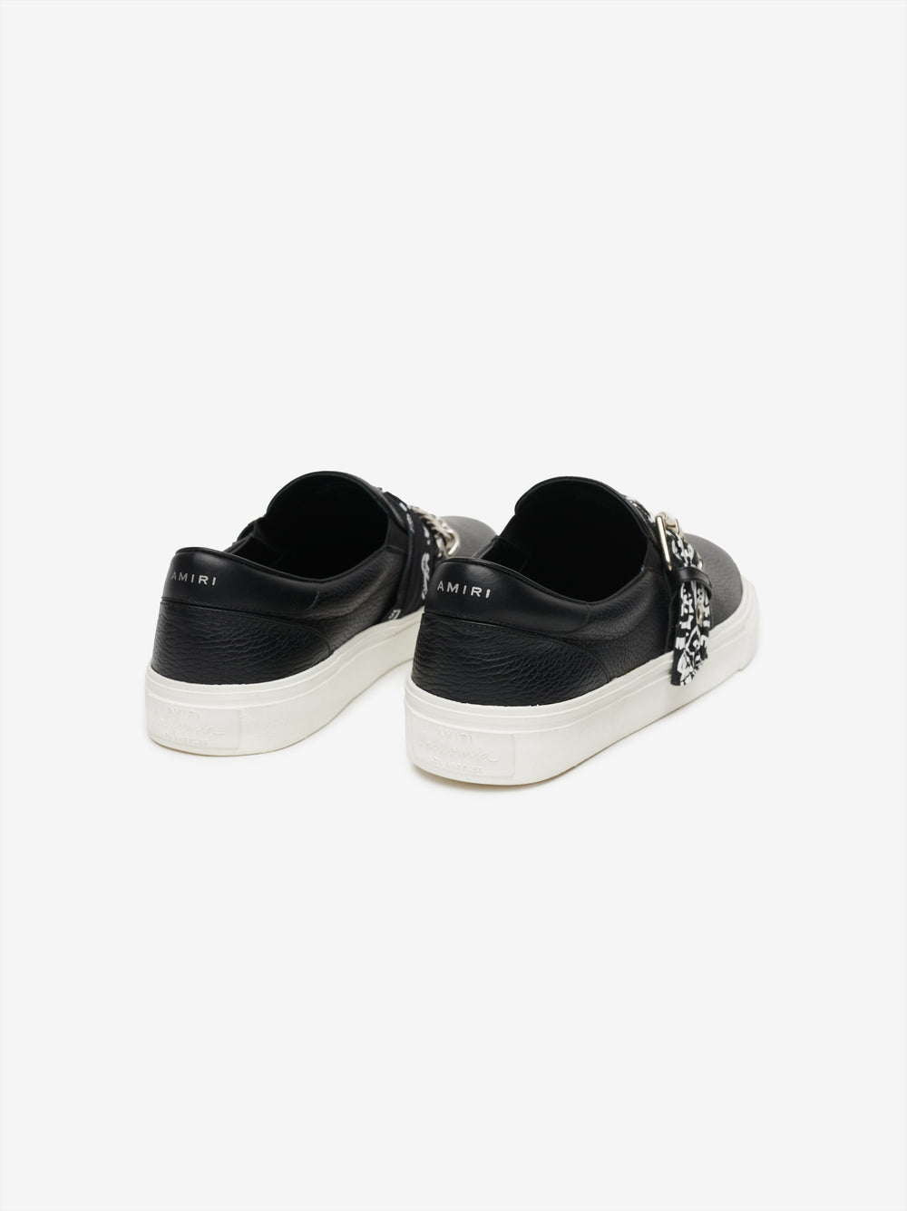BANDANA CHAIN SLIP ON - BLACK / BLACK