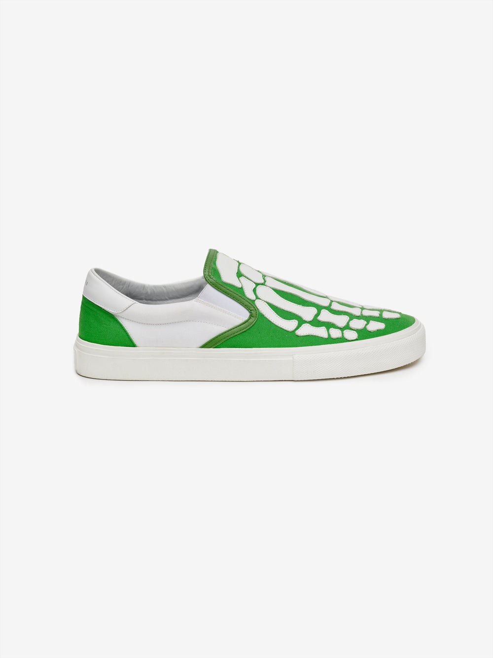 SKEL TOE SLIP ON - GREEN / WHITE