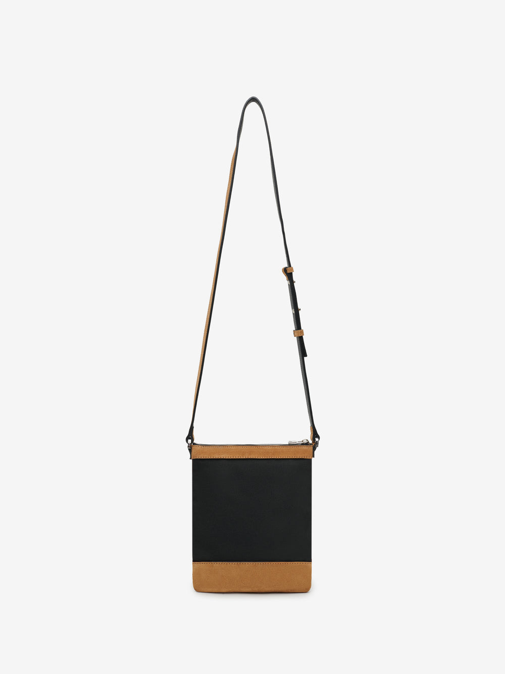 CANVAS CROSSBODY - BLACK / TAN