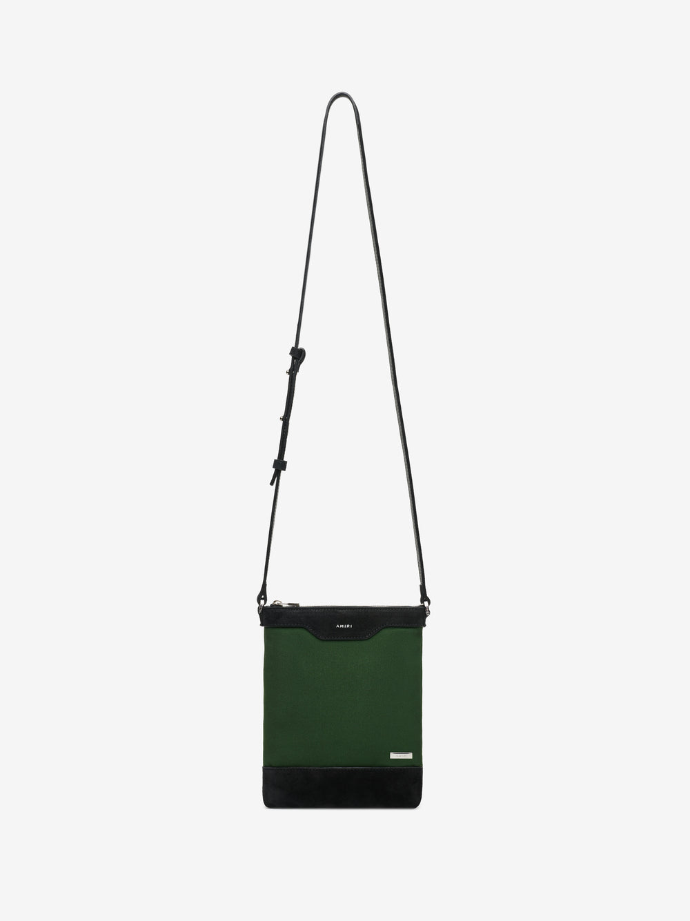 CANVAS CROSSBODY - MILITARY GREEN / BLACK