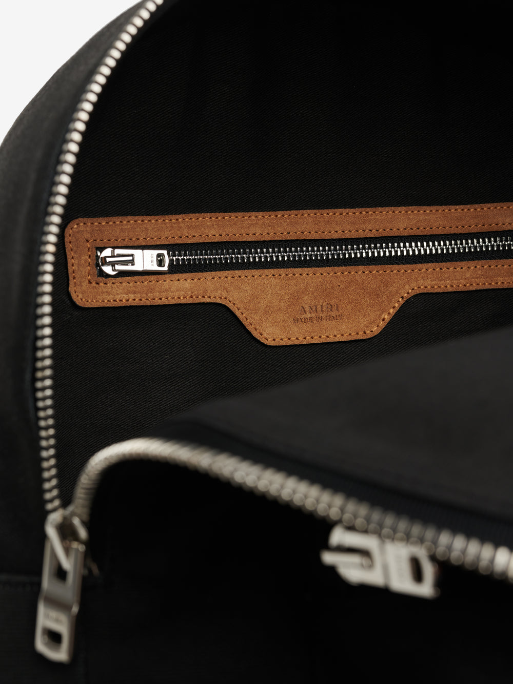 CLASSIC CANVAS / SUEDE BACKPACK - BLACK