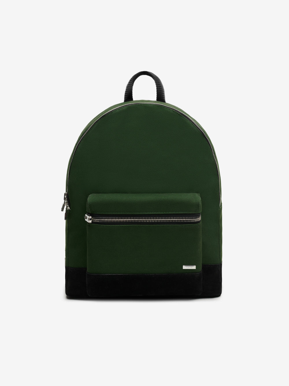 CLASSIC CANVAS / SUEDE BACKPACK - MILITARY GREEN / BLACK