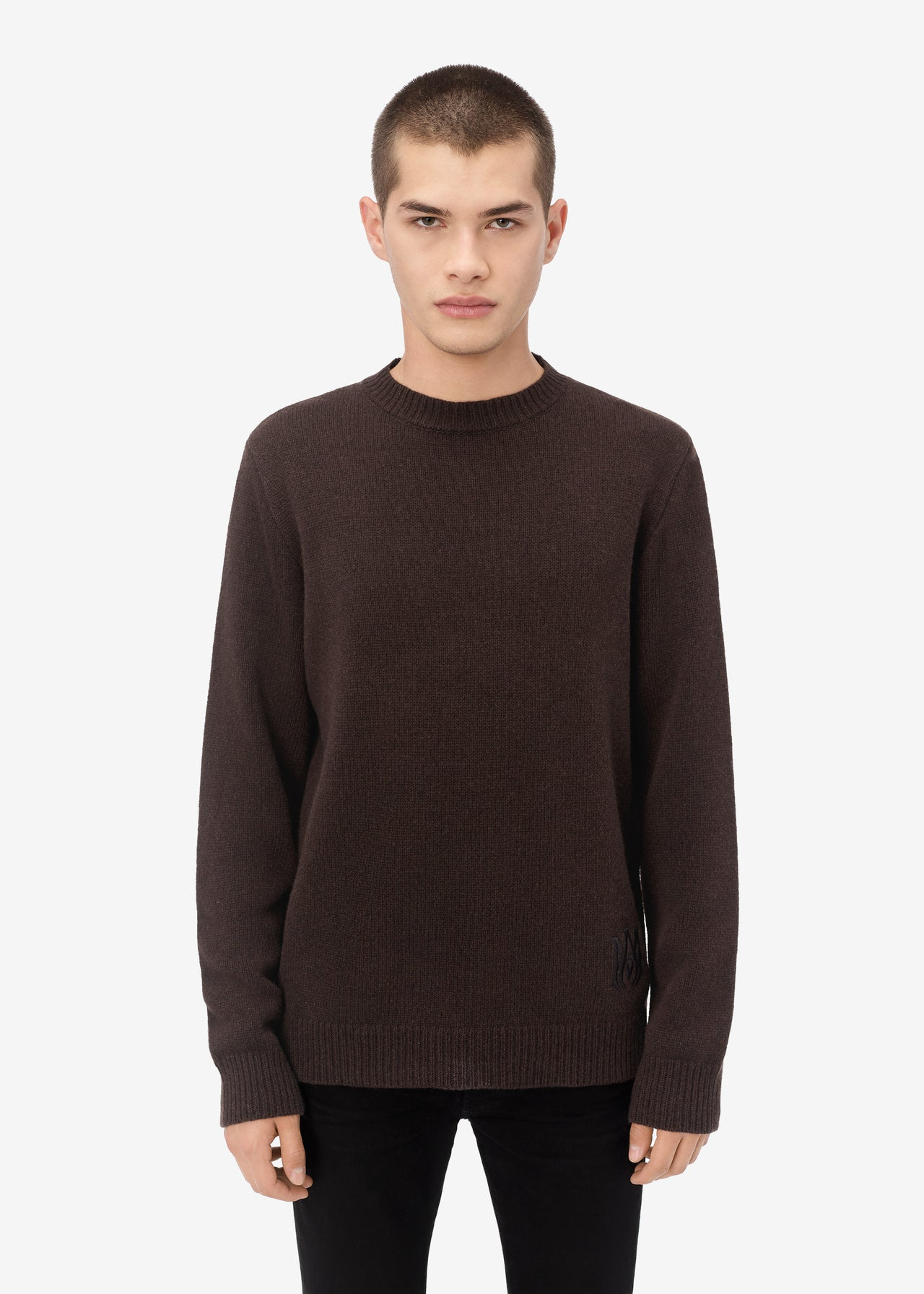 CLASSIC CREWNECK - DARK BROWN