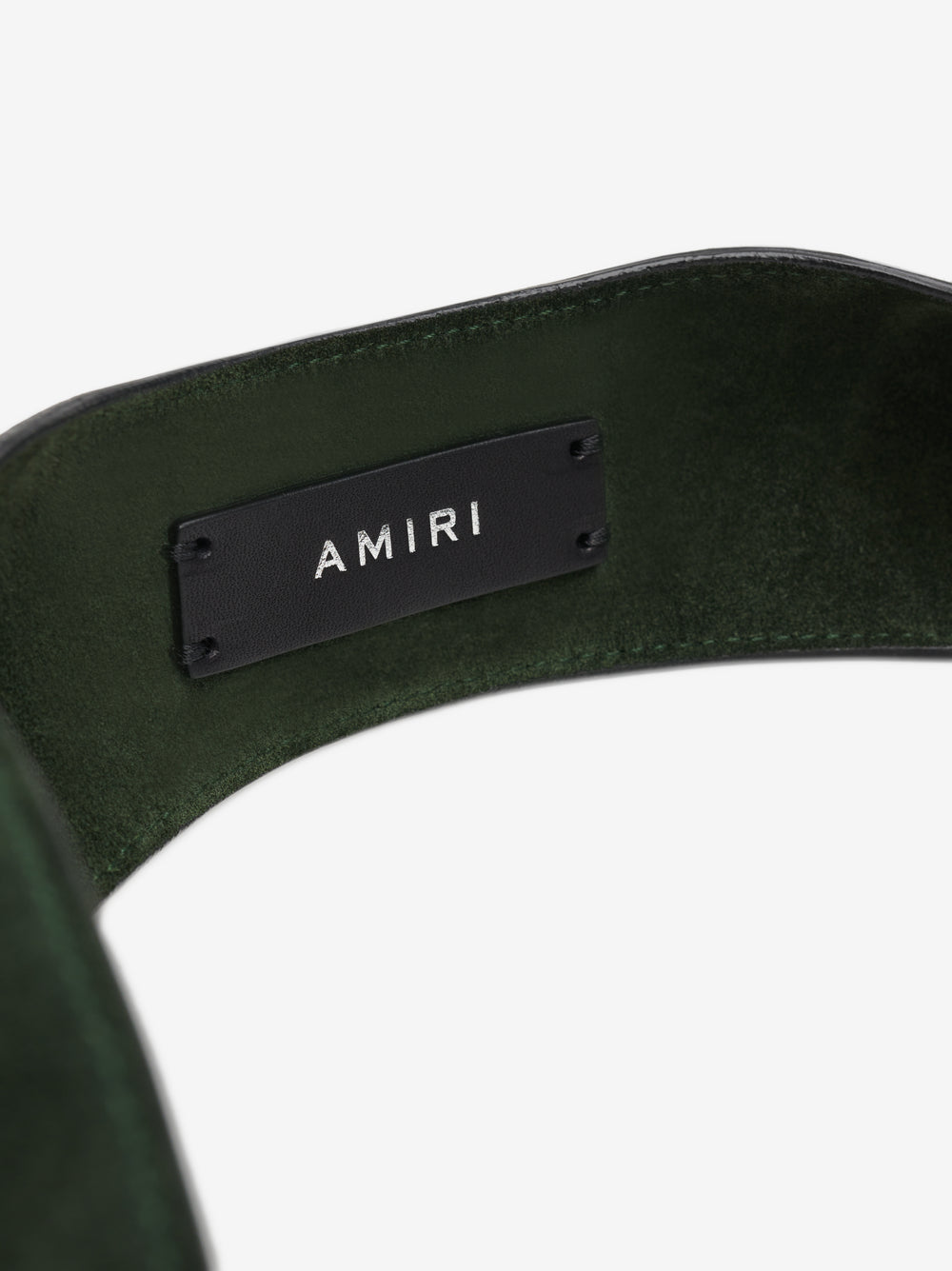 SUEDE HARNESS BAG - MILITARY GREEN