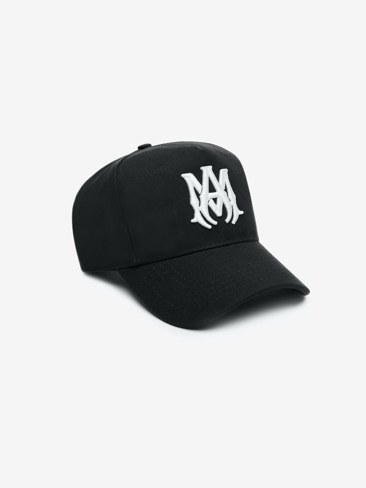 MA FULL CANVAS HAT - Black / White