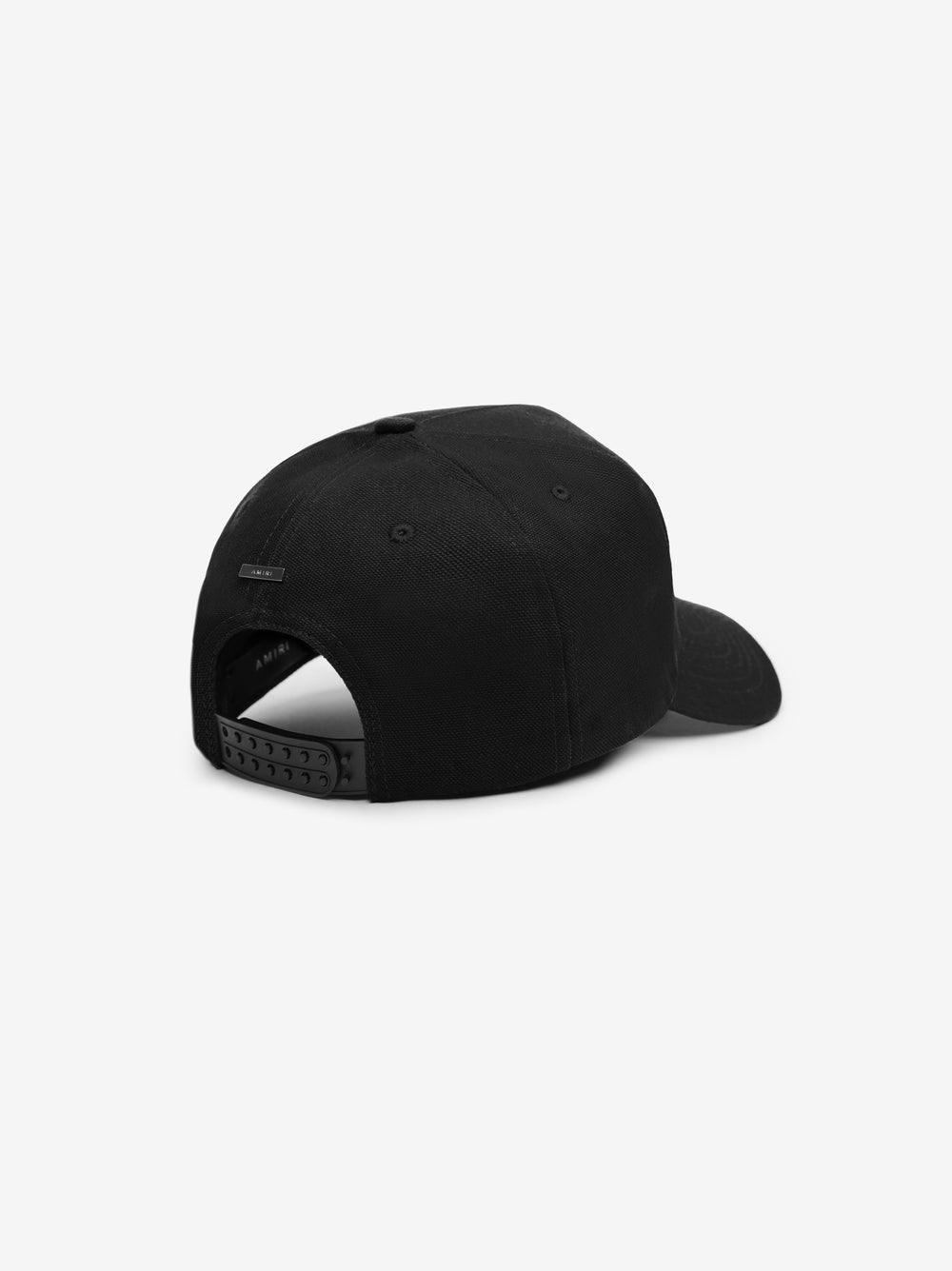 M.A. FULL CANVAS HAT - Black / White