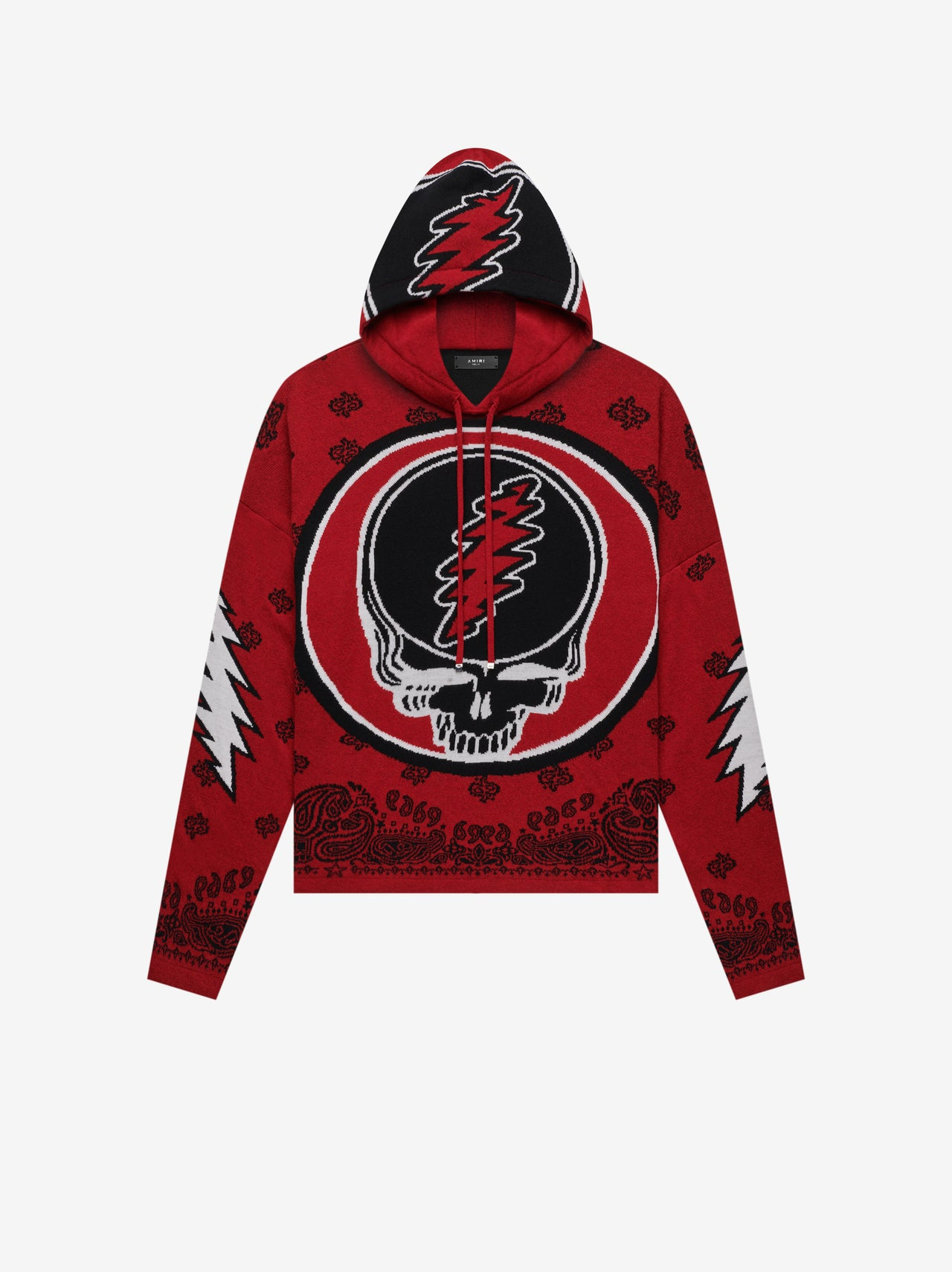 GRATEFUL DEAD HOODIE - Red