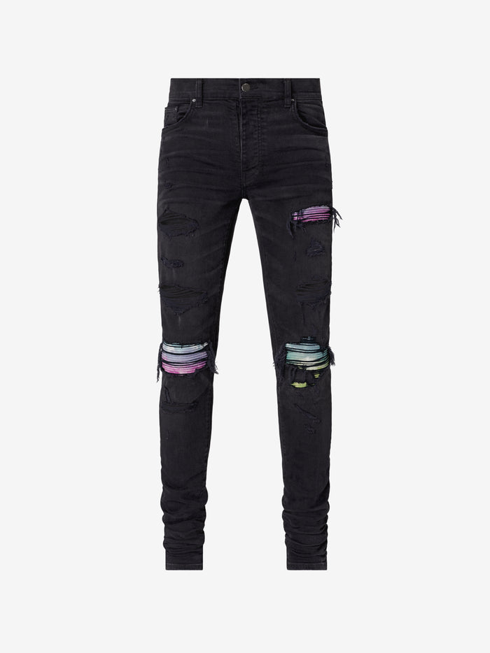 Pleated Watercolor Animation Jean Web Exclusive - Aged Black