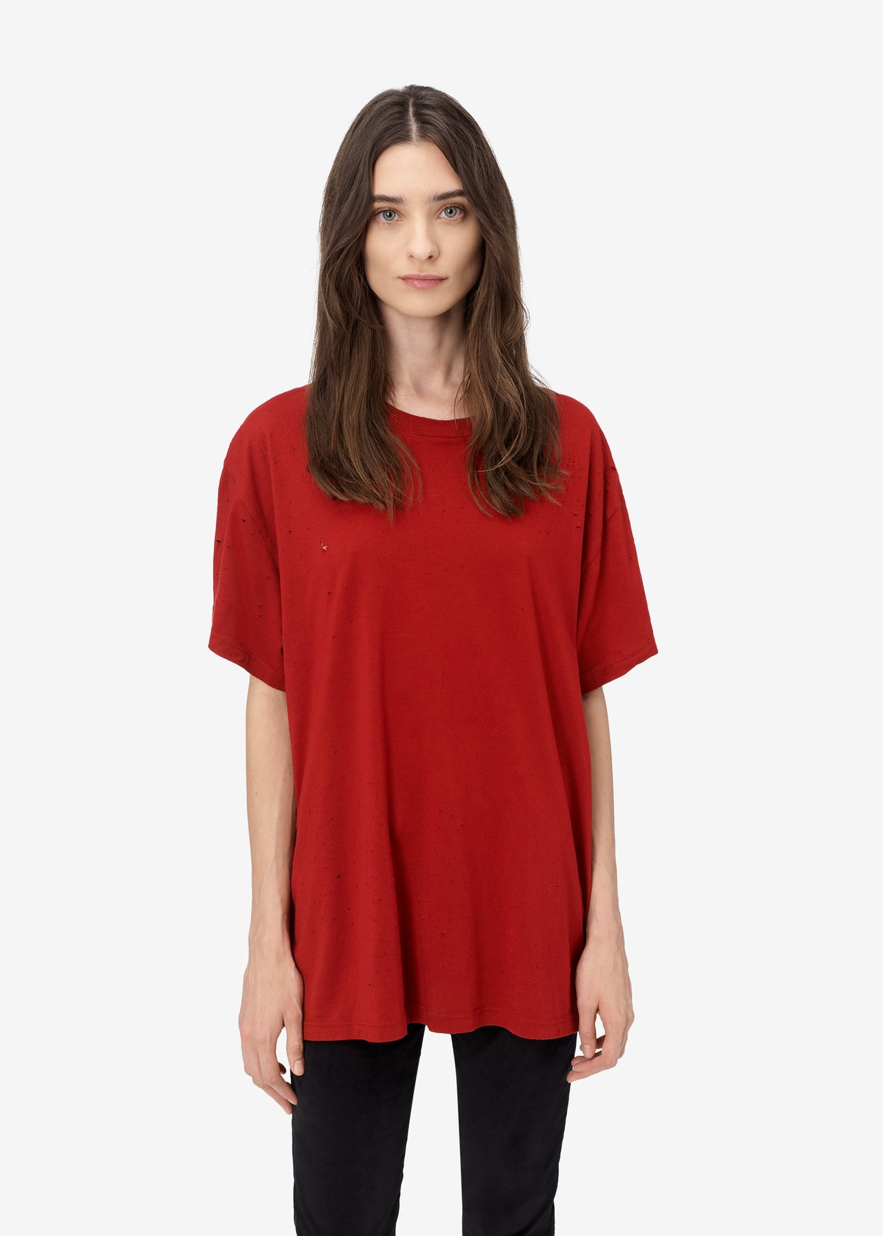 SLASH TEE - Red