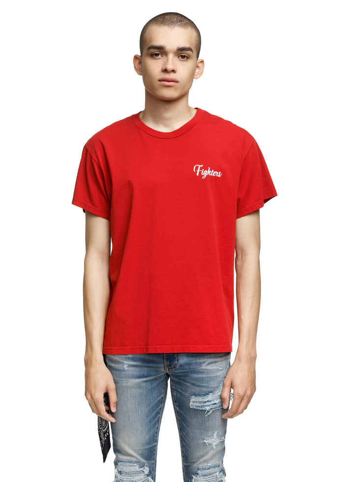 Fighters Tee Red/White