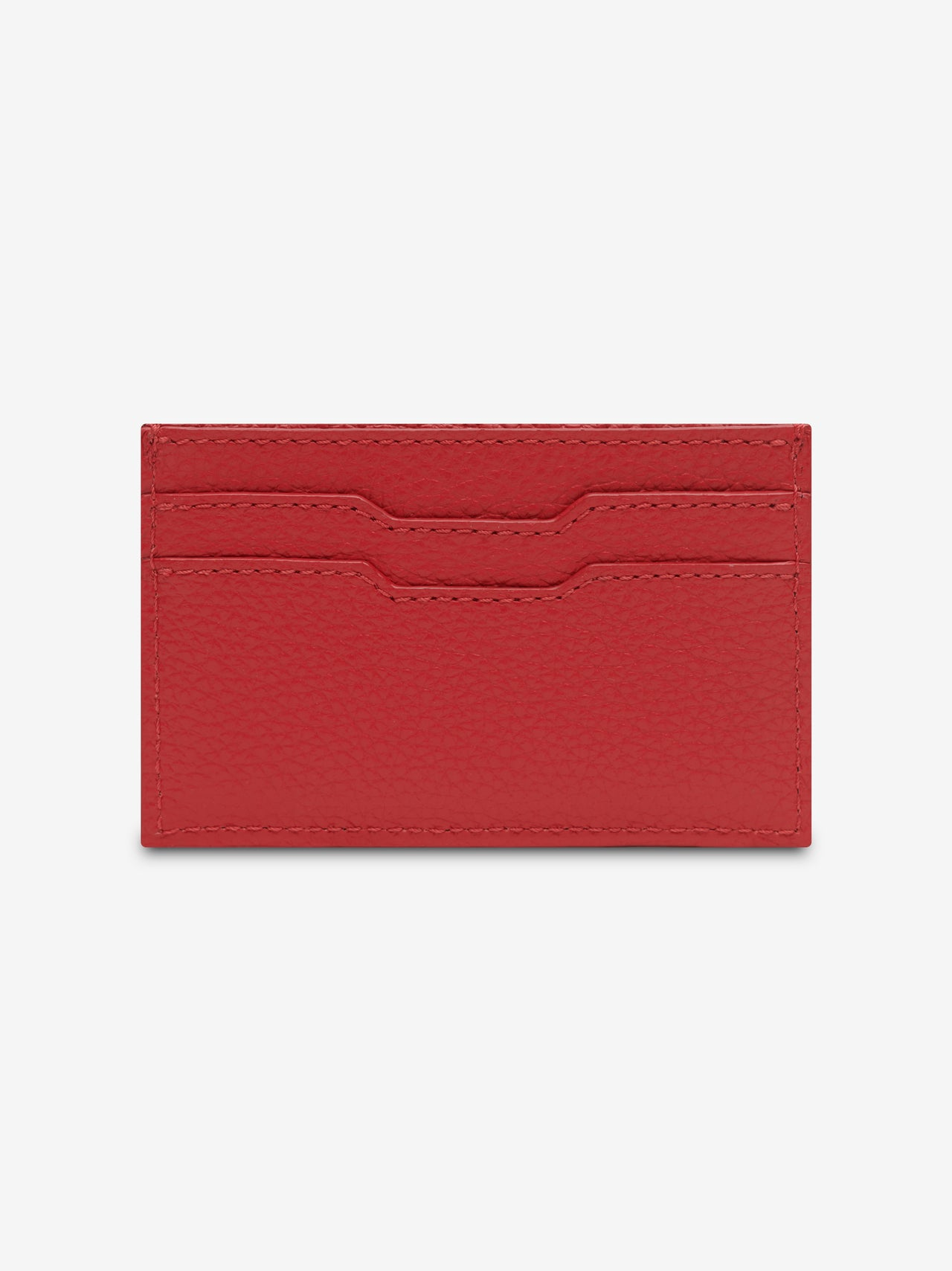 LARGE AMIRI LOGO CARD HOLDER - Red