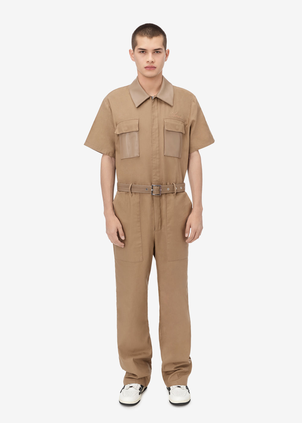 BOILER SUIT - Brown