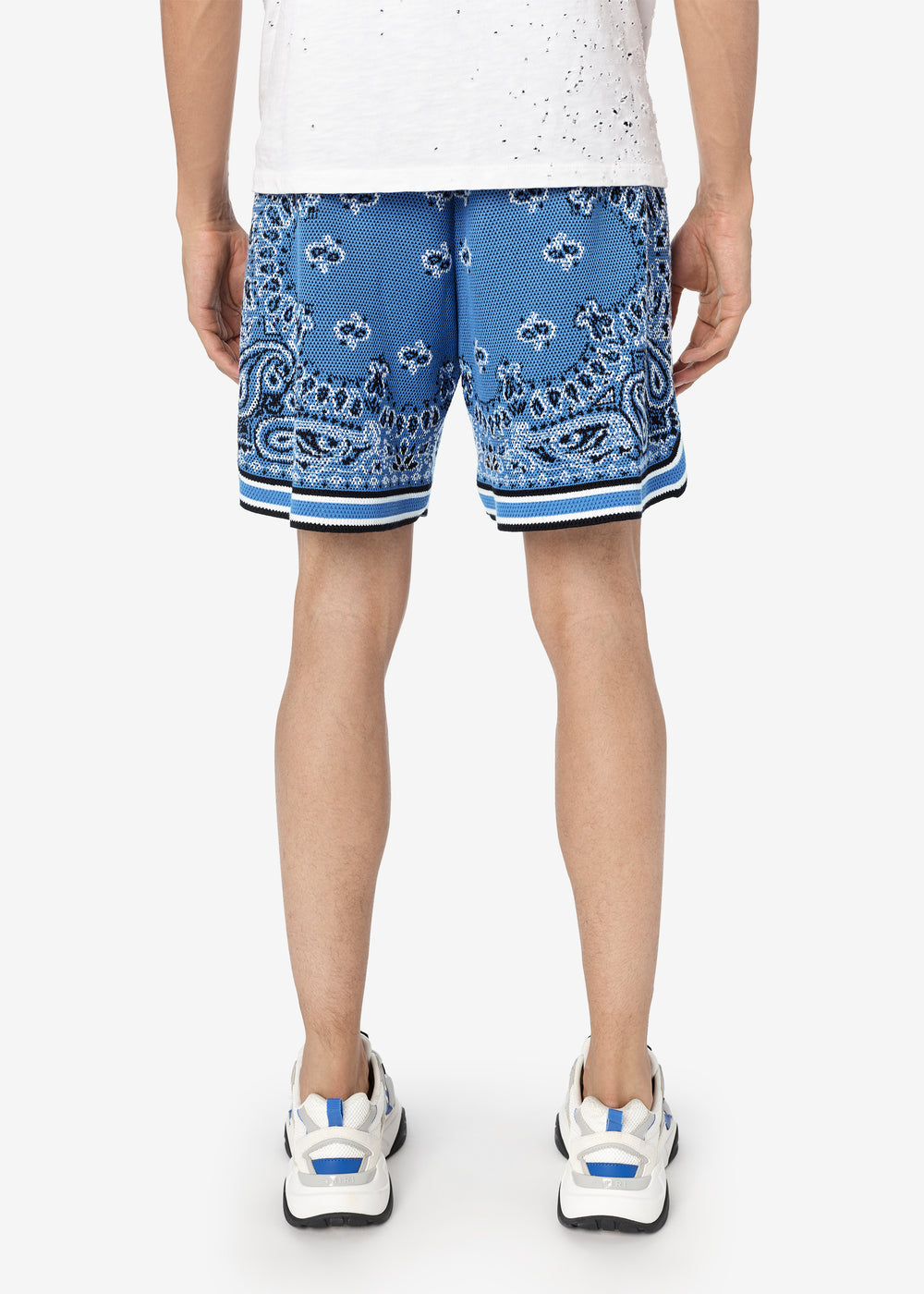 BANDANA B-BALL SHORTS - CAROLINA BLUE