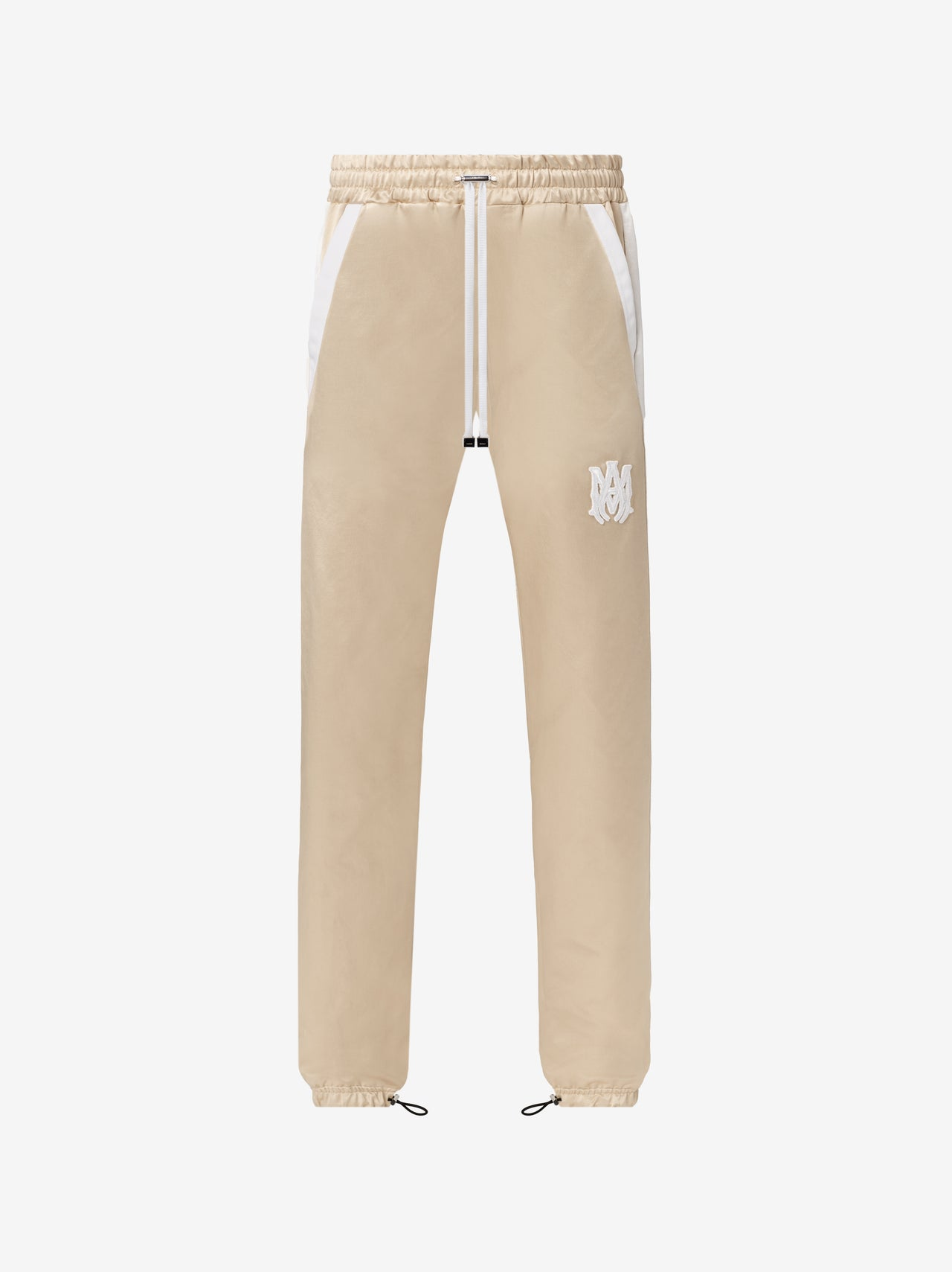 DRAWSTRING TRACKPANT - CHAMPAGNE / WHITE